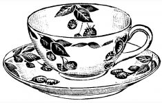 Teacup Print | Craft & Create | Tea Cup Drawing, Tea Cups, Tea – Free Printable Tea Cup Coloring Pages