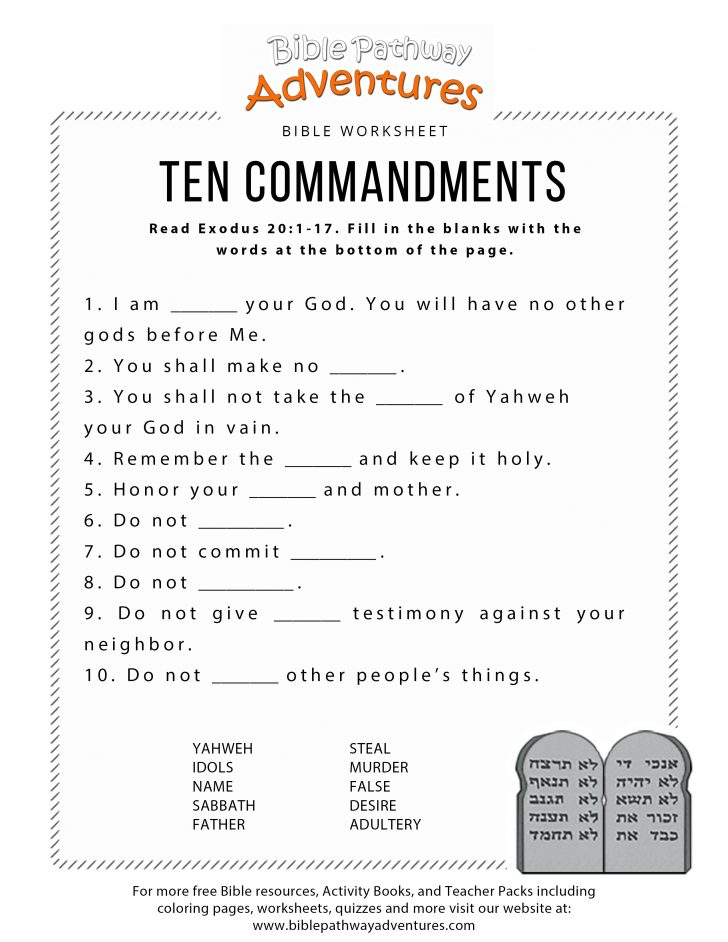 Free Printable Bible Games For Kids