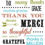 Thank You Card Free Printable   Free Printable Soccer Thank You Cards