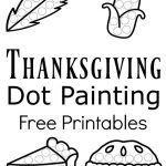Thanksgiving Dot Painting {Free Printables} | Best Of Kids And   Thanksgiving Games Printable Free