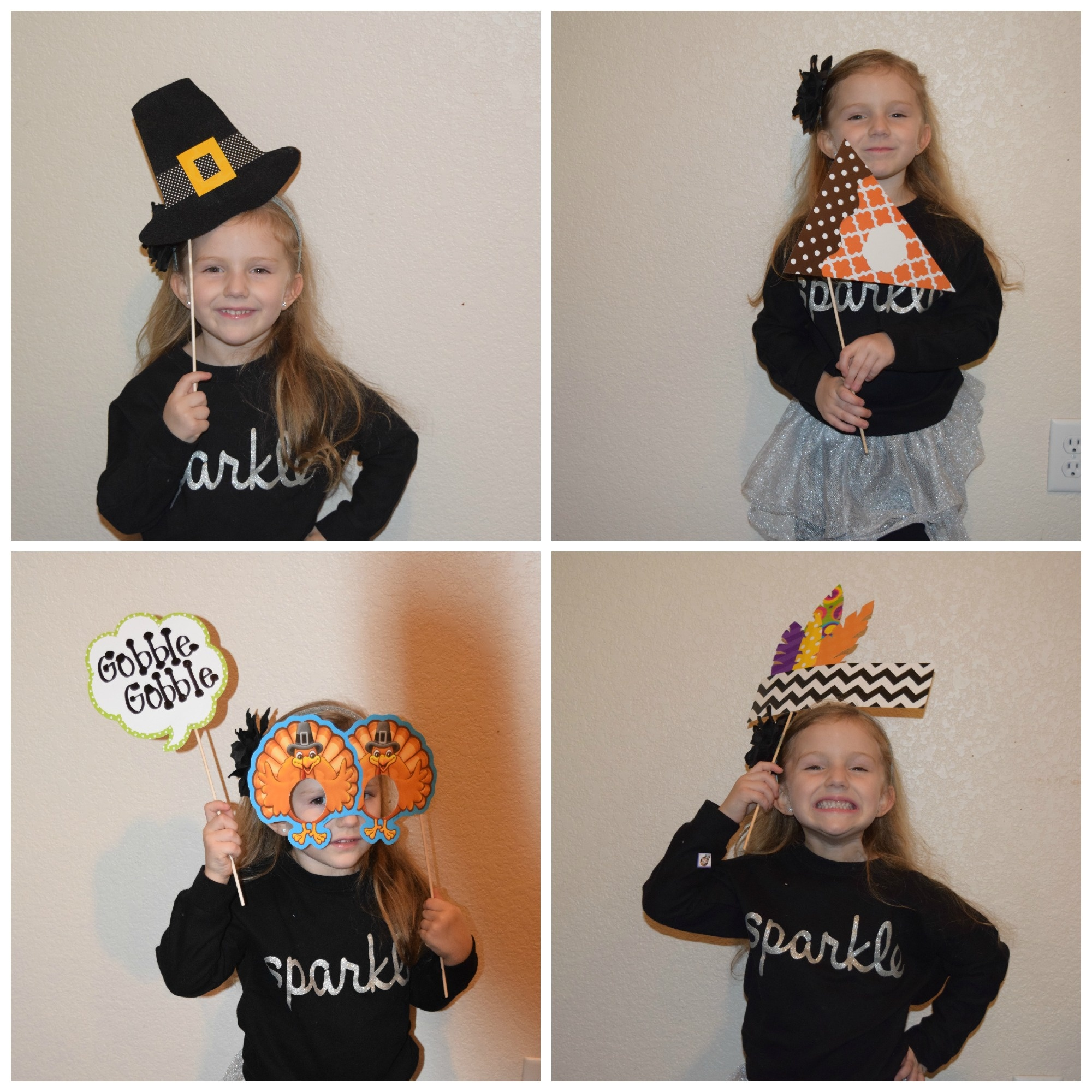 Thanksgiving Photo Booth Props For The Classroom & Free Template - Free Printable Thanksgiving Photo Props