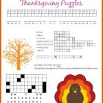 Thanksgiving Puzzles More Thanksgiving Puzzles Daily Dish Magazine   Thanksgiving Crossword Puzzles Printable Free