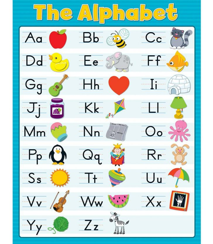 Free Printable Alphabet Chart