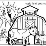 The Best Free Barnyard Coloring Page Images. Download From 71 Free   Free Printable Barn Coloring Pages