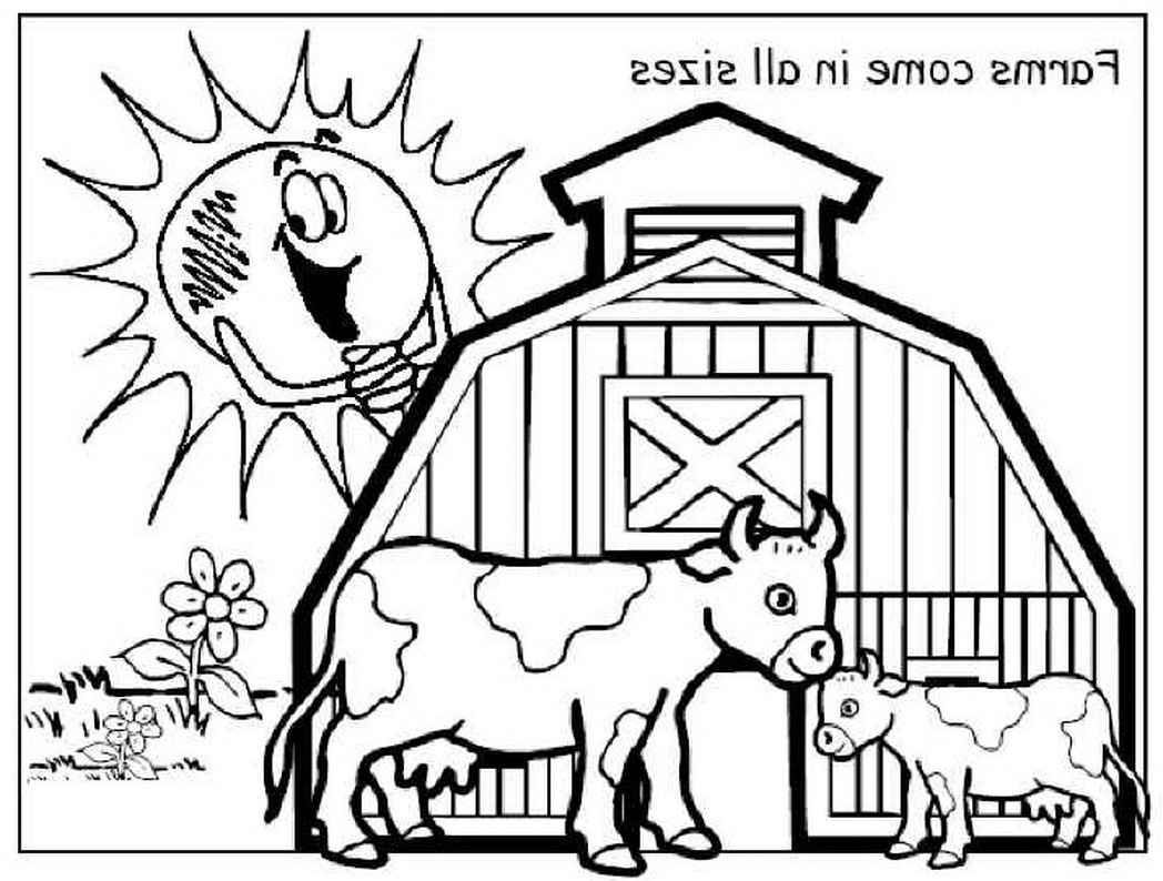 The Best Free Barnyard Coloring Page Images. Download From 71 Free - Free Printable Barn Coloring Pages