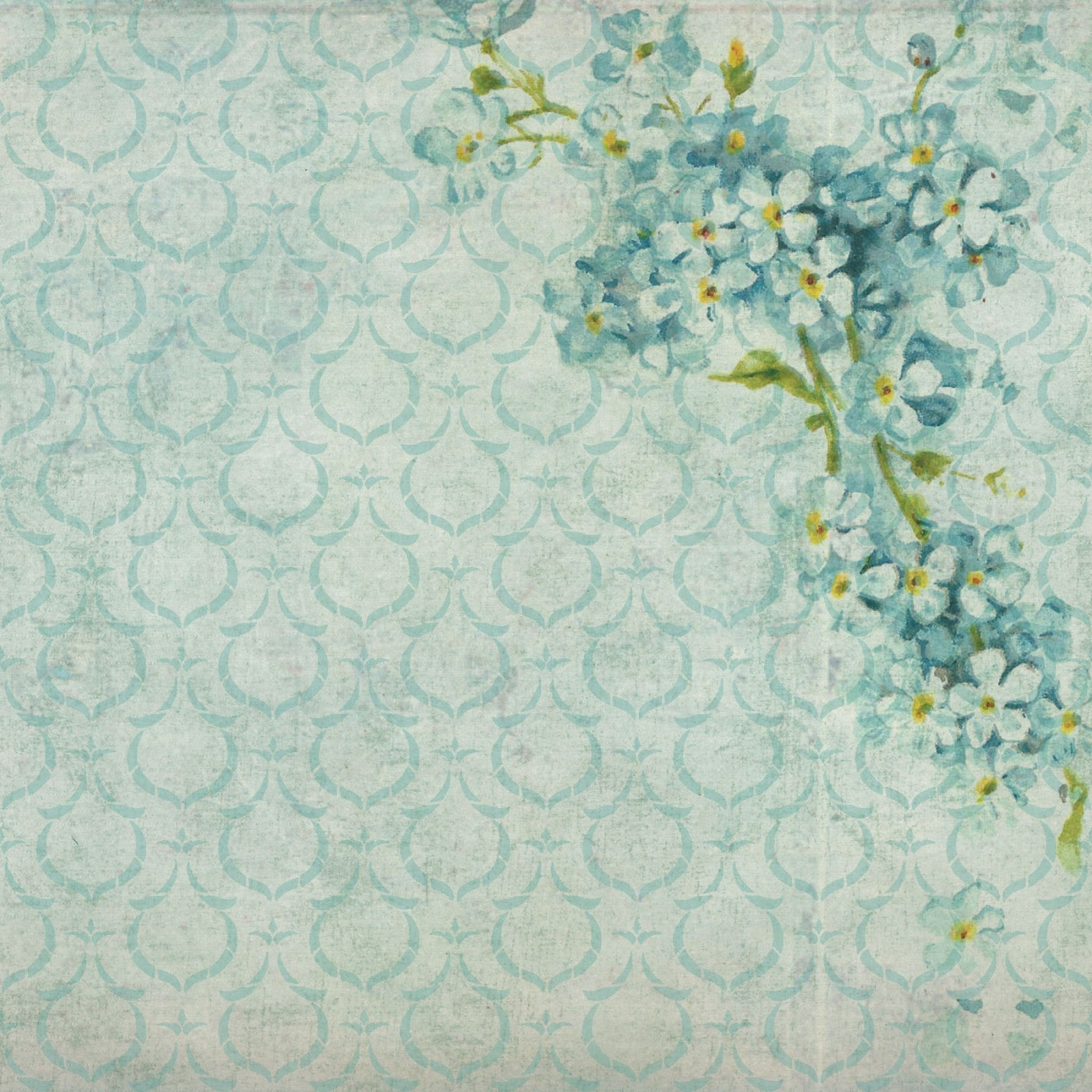 The Graphics Monarch: Free Background Digital Flower Papers 6 Inch - Free Printable Background Pages