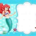The Little Mermaid Invitation Templates   Kaza.psstech.co   Mermaid Birthday Invitations Free Printable