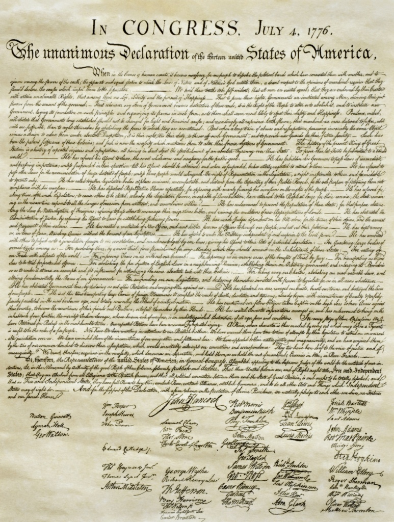 The Paradox Of The Declaration Of Independence - The Aspen Institute - Free Printable Copy Of The Declaration Of Independence