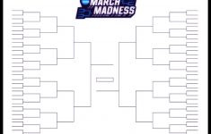 The Printable March Madness Bracket For The 2019 Ncaa Tournament – Free Printable Brackets Ncaa Basketball