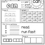 These Worksheets Are Perfect To Help Your Young Students Learn And   Free Printable Sight Word Worksheets