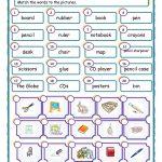 Things In The Classroom Worksheet   Free Esl Printable Worksheets   Free Printable Classroom Worksheets