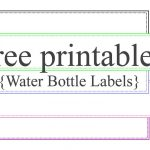 This Is Super Awesome Sight With Tons Of Free Printable Templates   Free Printable Water Bottle Label Template