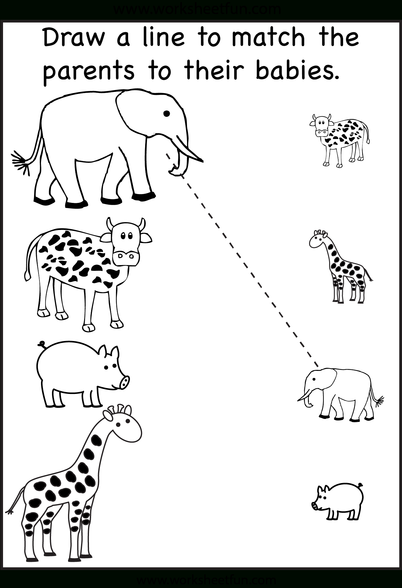 Tons And Tons Of Free Printables! Tracing Matching Etc Preschool - Free Printable Toddler Worksheets