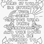 Top 10 Free Printable Bible Verse Coloring Pages Online | Coloring   Free Printable Christian Coloring Pages
