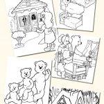 Top 10 Free Printable Goldilocks And The Three Bears Coloring Pages   Free Printable Goldilocks And The Three Bears Story