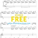 Top 100 Popular Piano Sheets Downloaded From Sheetdownload   Piano Sheet Music For Beginners Popular Songs Free Printable