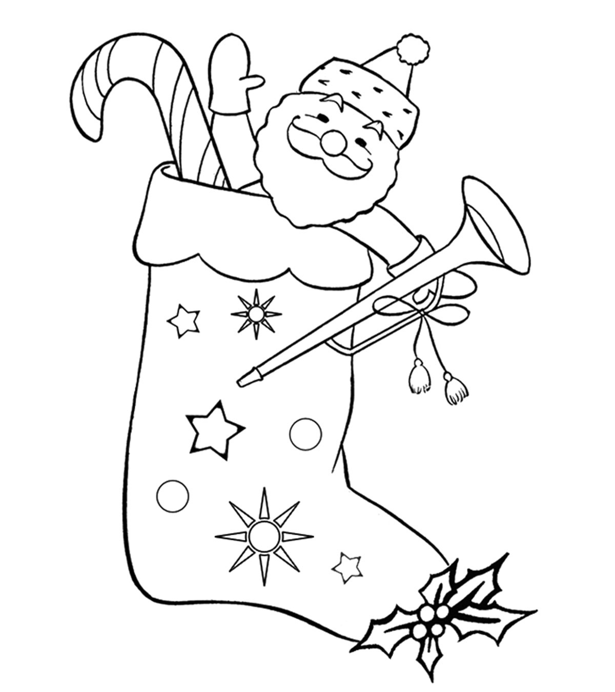 Top 25 Free Printable Christmas Stocking Coloring Pages Online - Free Printable Good Touch Bad Touch Coloring Book