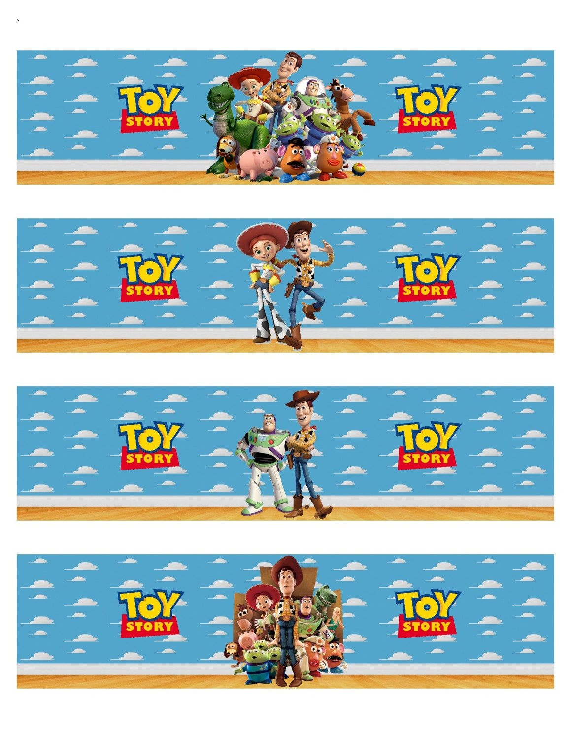 Toy Story Inspired Water Bottle Labels In 2019 | Party | Bottle - Free Printable Toy Story Water Bottle Labels