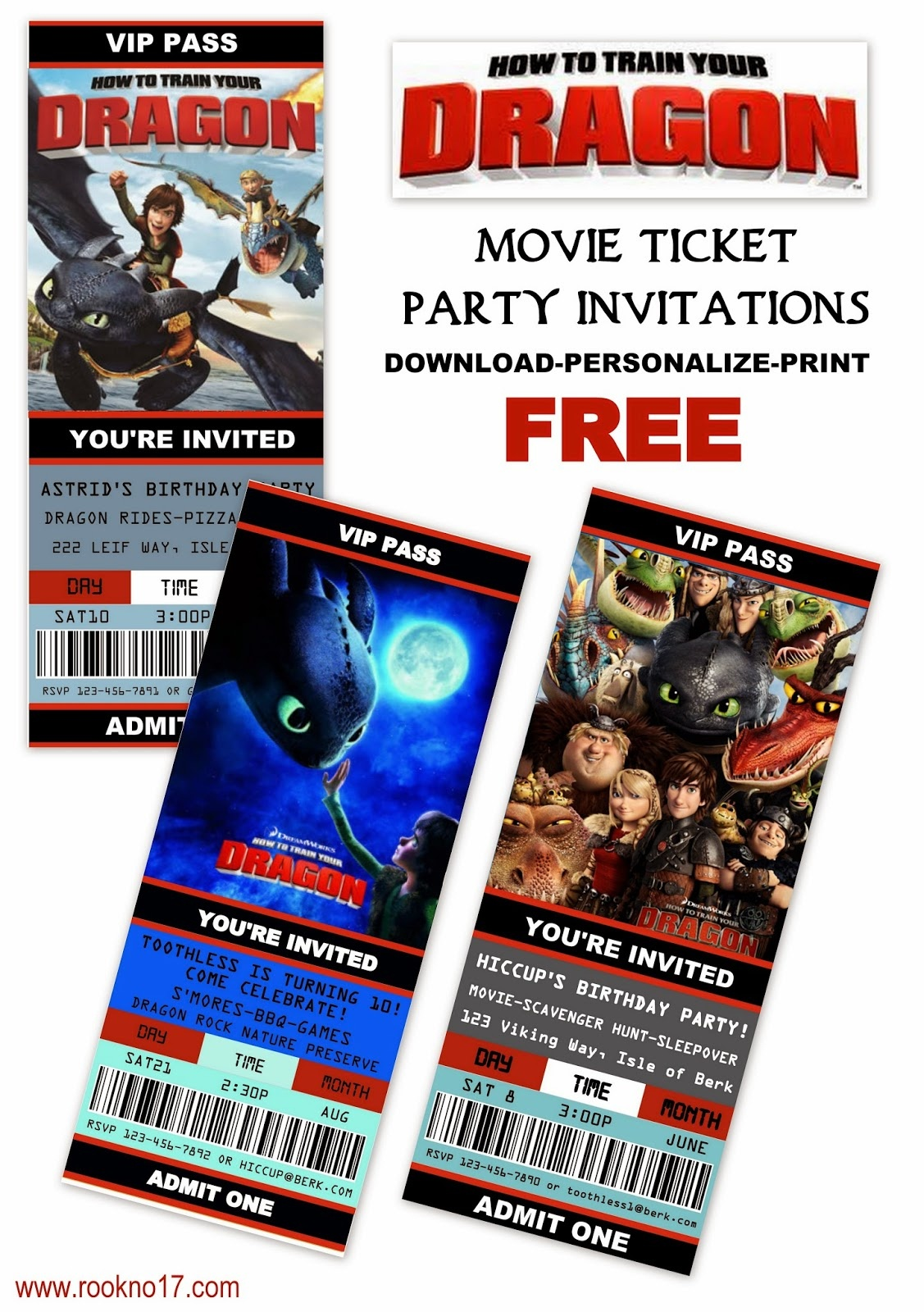 Train Party Invitation Template. Thomas The Train Ticket Party - How To Train Your Dragon Birthday Invitations Printable Free