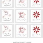 Ultimate Collection Of Free Printable Christmas Gift Tags | Frugal   Diy Gift Tags Free Printable