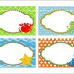 Under The Sea Food Labels Free Printable Tags   Imagestack   Free Printable Name Tags
