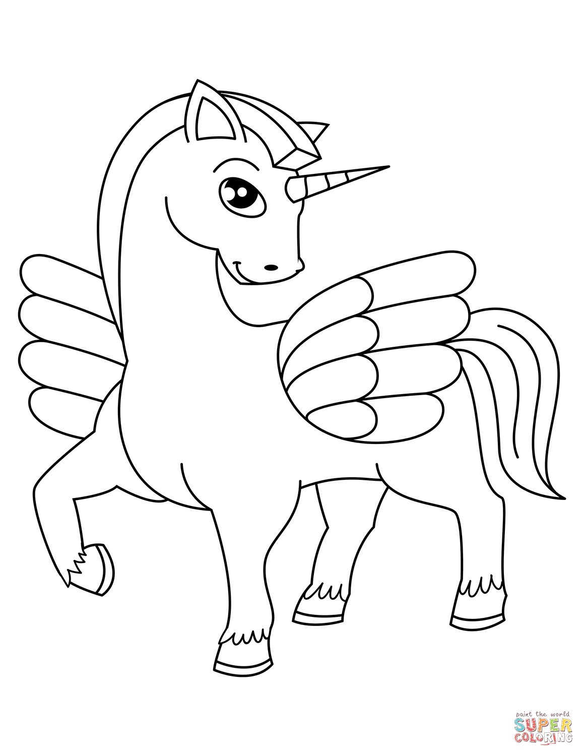 Unicorn Coloring Pages | Free Coloring Pages - Free Printable Unicorn Coloring Pages