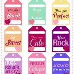 Valentine's Day Love Packs | So Stinking Cute!! | Valentine   Free Printable Valentine Tags