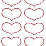 Vintage Valentine Printable   Antique Heart Labels | Diy Ideas   Free Printable Hearts