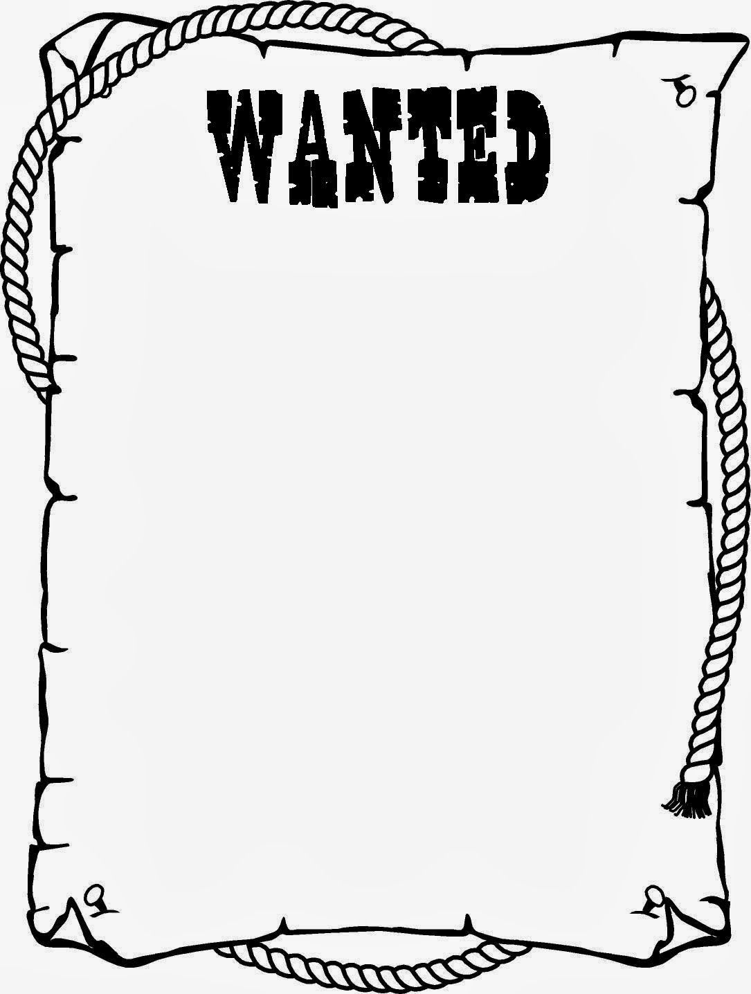 Wanted Poster Template For Kids Ctzobx5Z | Community Helpers | Wild - Wanted Poster Printable Free