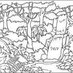 Waterfall Coloring Pages   Best Coloring Pages For Kids   Free Printable Waterfall Coloring Pages