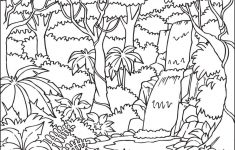 Waterfall Coloring Pages – Best Coloring Pages For Kids – Free Printable Waterfall Coloring Pages