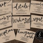 Wedding Insert Cards Pdf Template (Instant Download), Enclosure Card   Free Printable Wedding Inserts