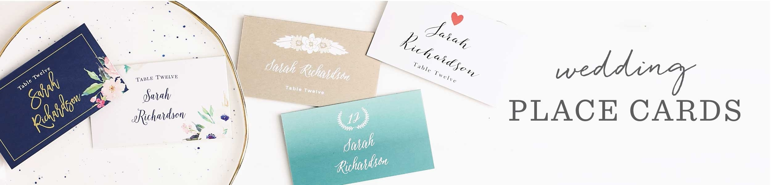 Wedding Place Cards | Free Guest Name Printing! - Basic Invite - Free Printable Damask Place Cards