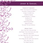 Wedding Program Templates Free | Weddingclipart | Wedding   Free Printable Wedding Program Templates