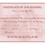 Wedding Vow Renewal Certificate Printable | Printable Birthday   Free Printable Wedding Certificates