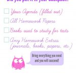 What To Do When Your Child Forgets To Bring Home Their Homework   Get Out Of Homework Free Pass Printable