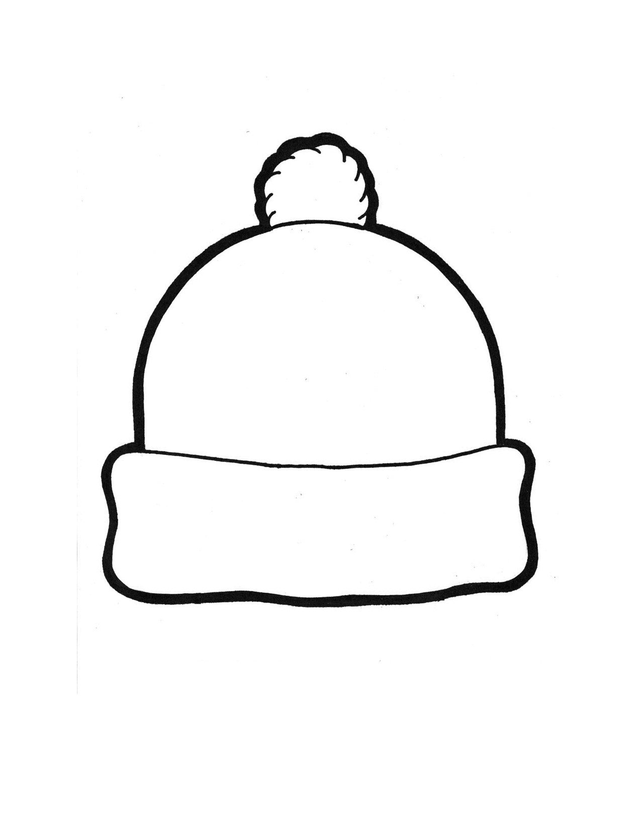Winter Hat Template | Elementary Art Projects | Hat Template, Winter - Free Printable Snowman Hat Templates