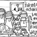 Wonderful Counselor | Christmas | Nativity Coloring Pages, Christmas   Free Printable Christmas Baby Jesus Coloring Pages