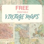 Wonderful Free Printable Vintage Maps To Download | #mcsmith Wedding   Free Printable Maps