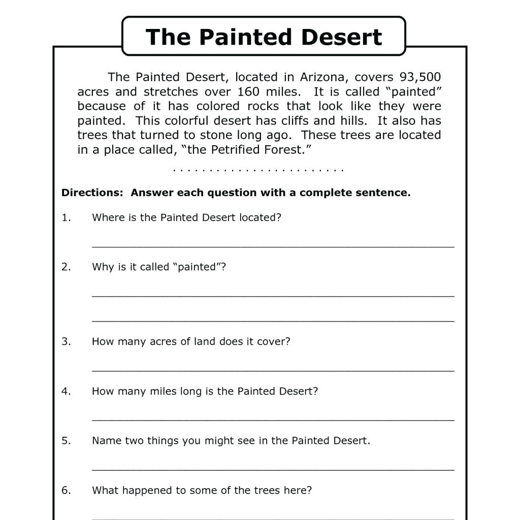 Worksheet : Free Printable Short Stories With Comprehension - Free Printable Short Stories With Comprehension Questions
