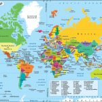 World Map, A Map Of The World With Country Name Labeled   Free Printable World Map With Countries Labeled