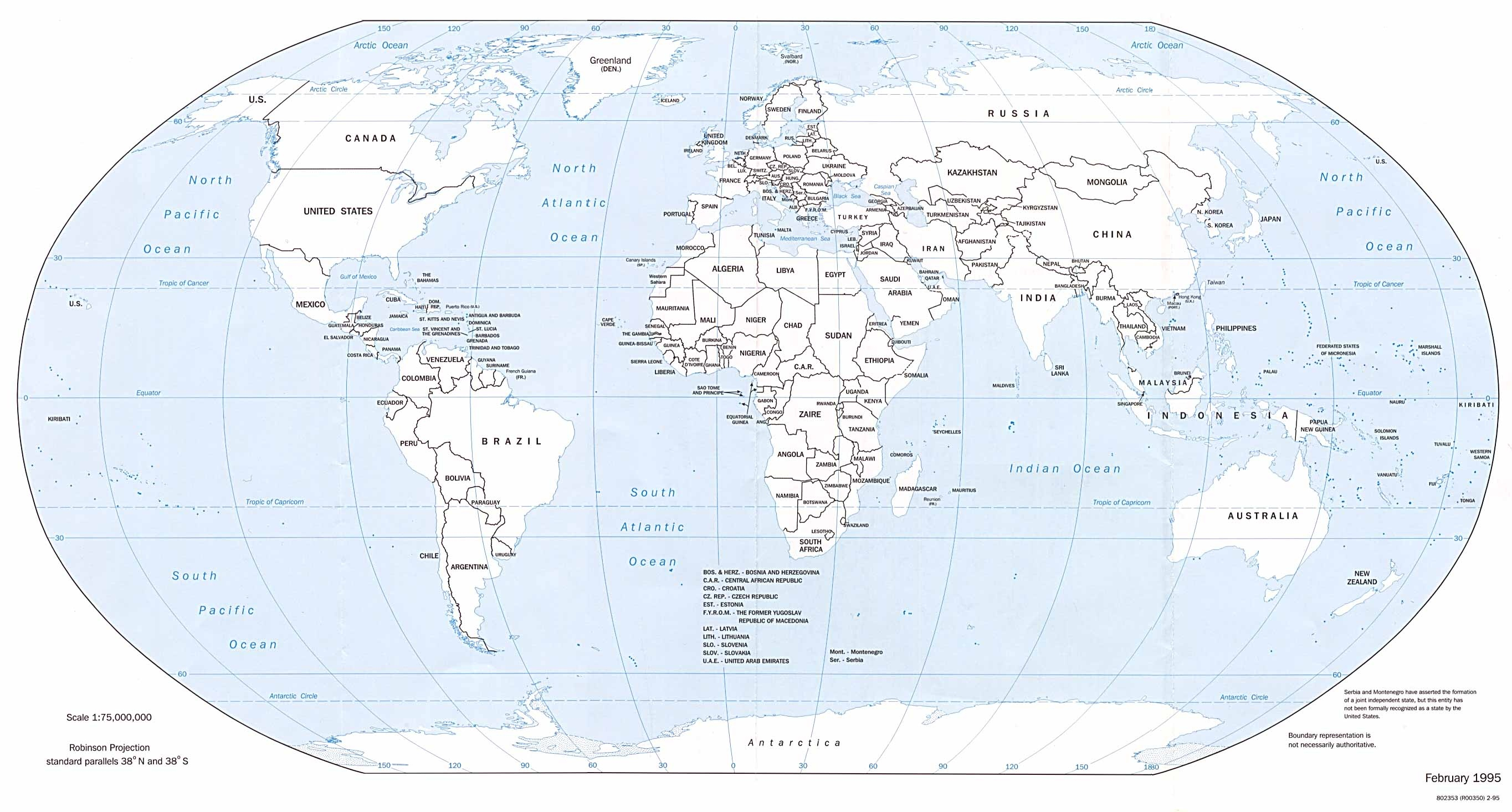 World Maps - Perry-Castañeda Map Collection - Ut Library Online - Free Printable World Maps Online