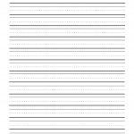 Writing Paper Second Grade Free Printable   Floss Papers   Free Printable Handwriting Paper For First Grade
