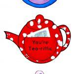 You're Tea Riffic Teapot Craft   Free Printable Teapot Template   Free Teapot Printable