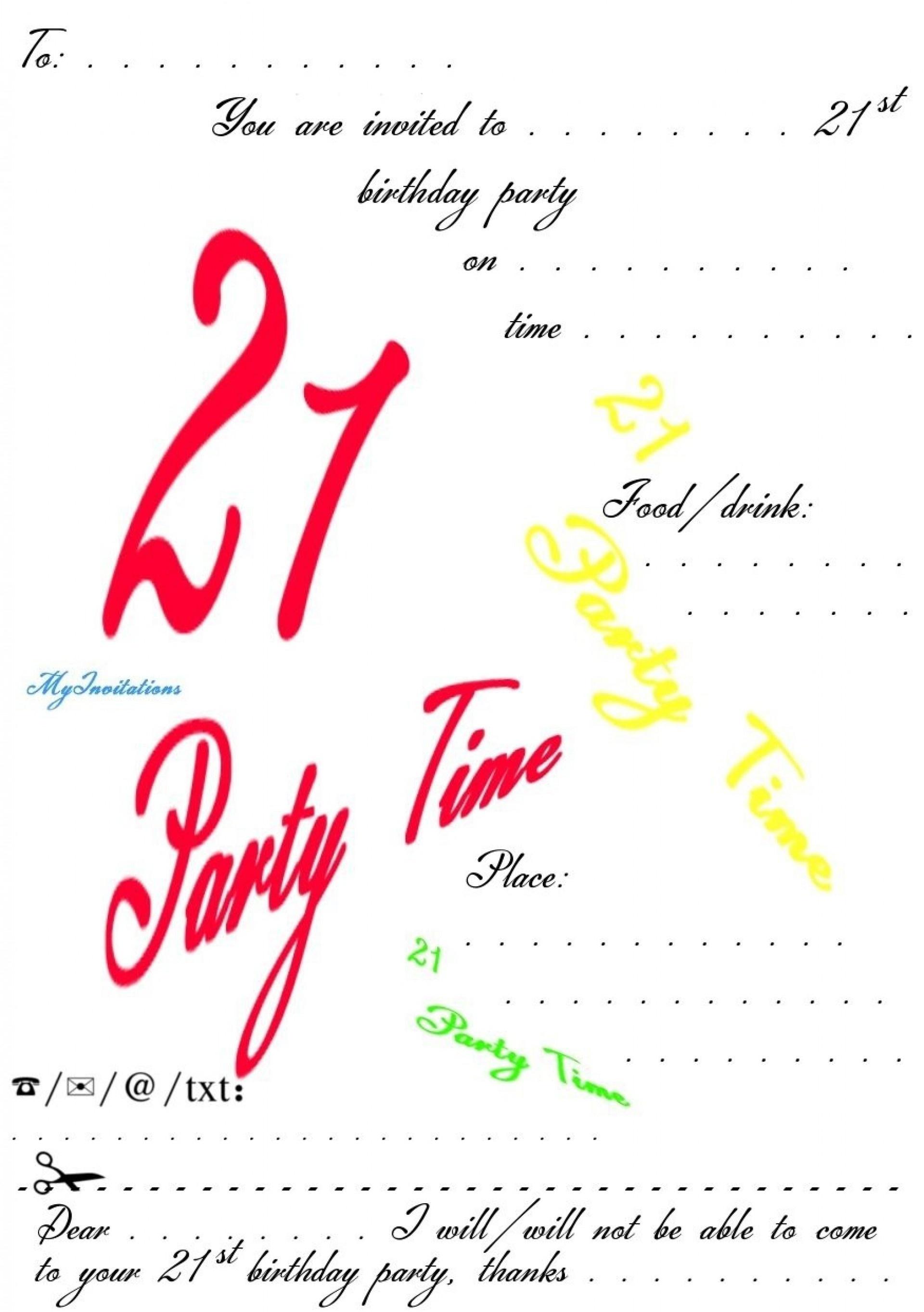 002 21St Birthday Invitation Templates Template Incredible Ideas - 21St Birthday Invitation Templates Free Printable