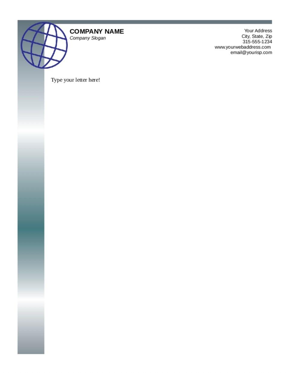 003 Free Printable Letterhead Templates Template Rare Ideas Business - Free Printable Letterhead Templates