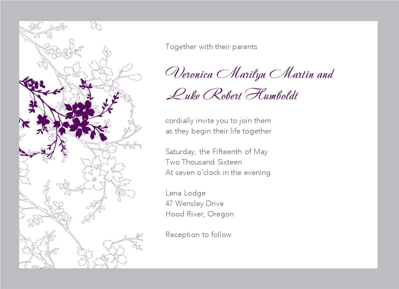 003 Template Ideas Free Downloadable Invitations Templates Elegant - Wedding Invitation Cards Printable Free