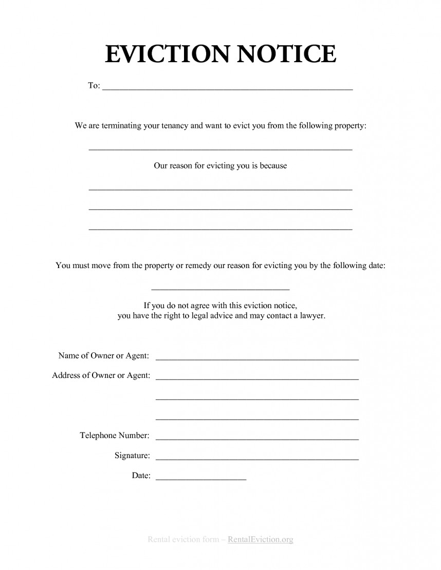 003 Template Ideas Free Printable Eviction Stunning Notice Texas - Free Printable Eviction Notice Ohio