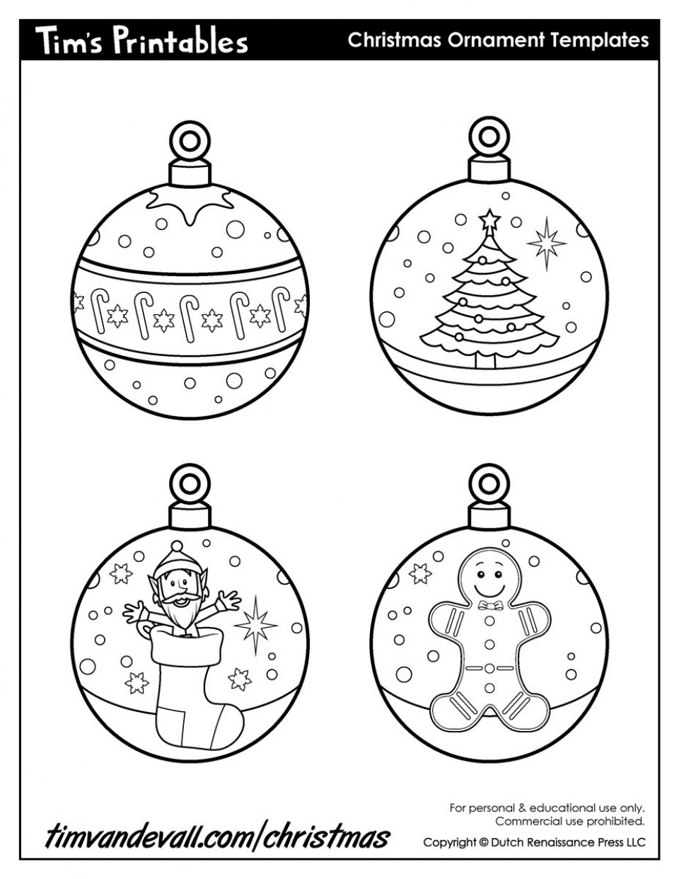 005 Printable Christmas Ornament Templates Paper Ornamentsssl1 - Free Printable Christmas Ornaments