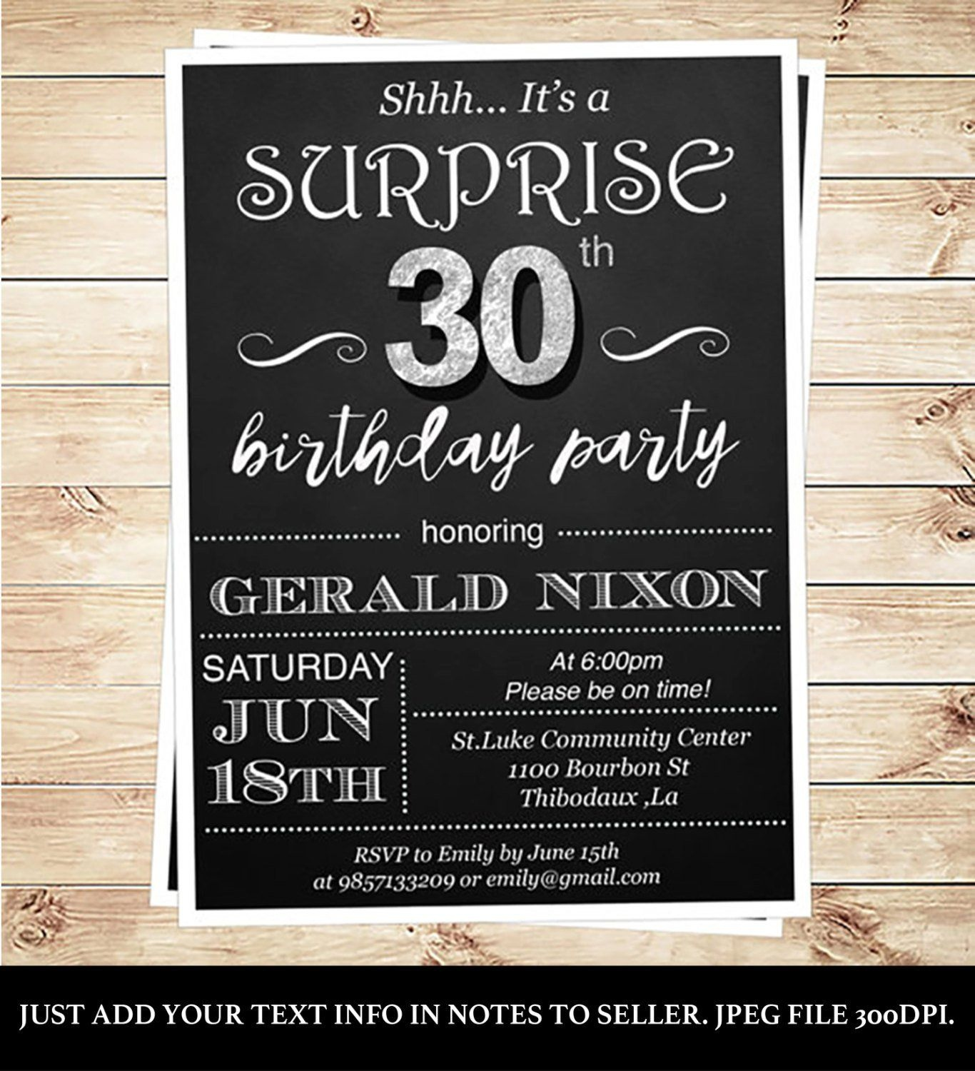 009 Template Ideas Surprise Party Invitation Singular Templates 70Th - Free Printable 70Th Birthday Party Invitations